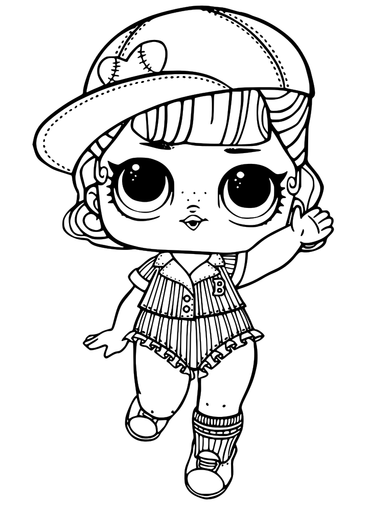 Lol Dolls Printable Coloring Pages at GetDrawings | Free ...