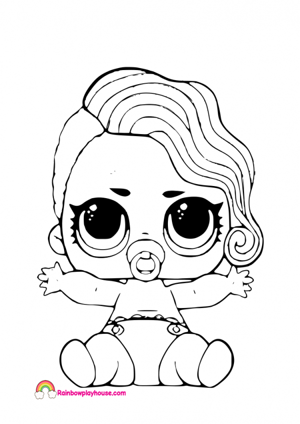 Lol Surprise Coloring Pages at GetDrawings   Free download