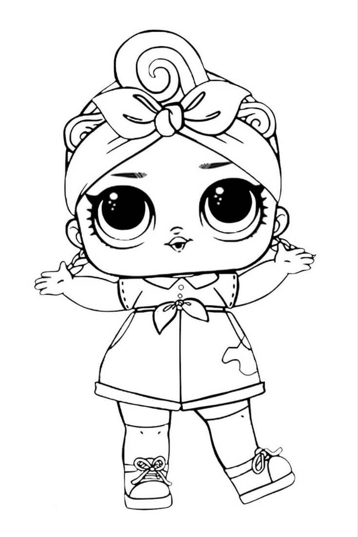 735x1102 awesome lol surprise doll coloring pages design free coloring book