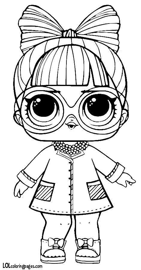 lol surprise coloring pages at getdrawings | free download