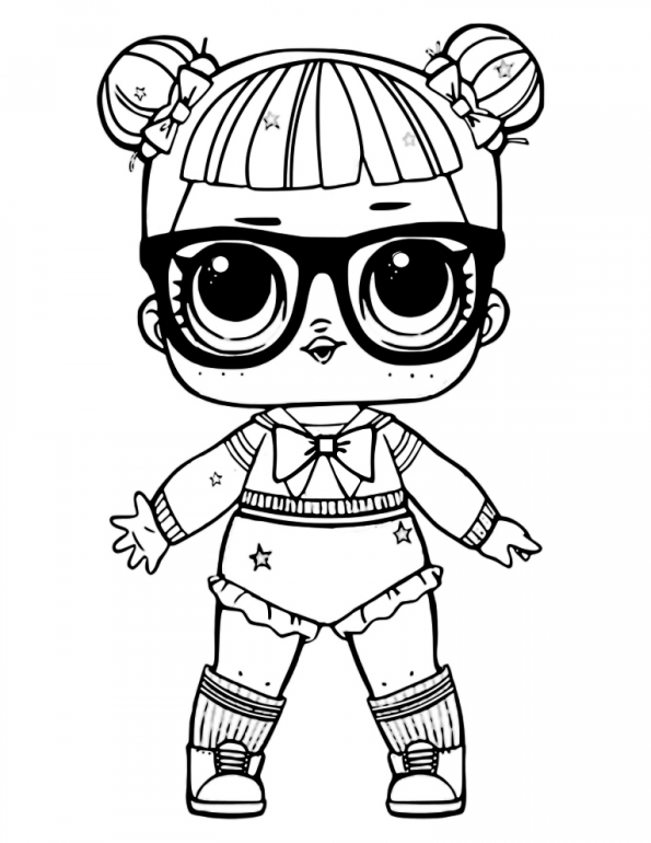 Lol Surprise Coloring Pages At Getdrawings Com Free For Personal