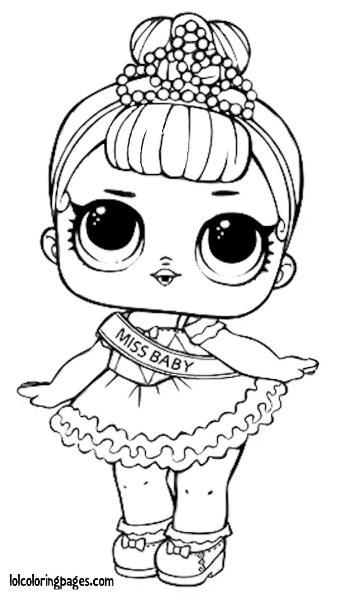 Lol Surprise Doll Coloring Pages At Getdrawings Free Download