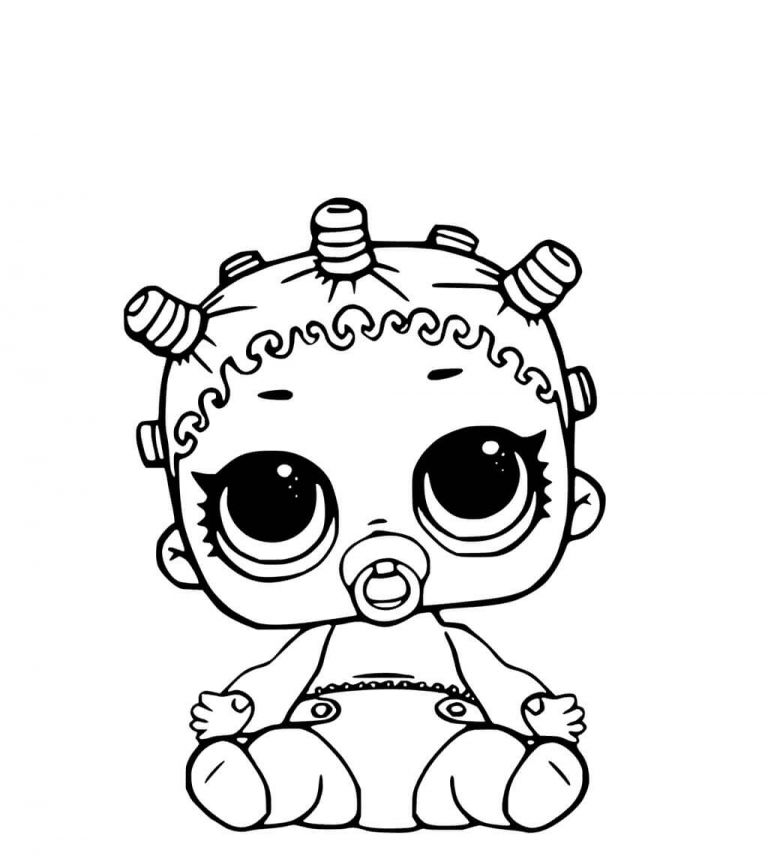 768x856 Lol Surprise Dolls Coloring Pages Lil Cosmic Queen Kiga