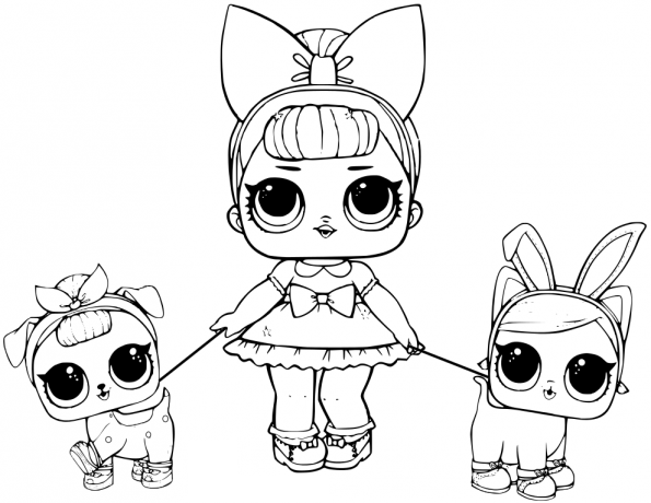 595x460 Lol Doll Coloring Pages