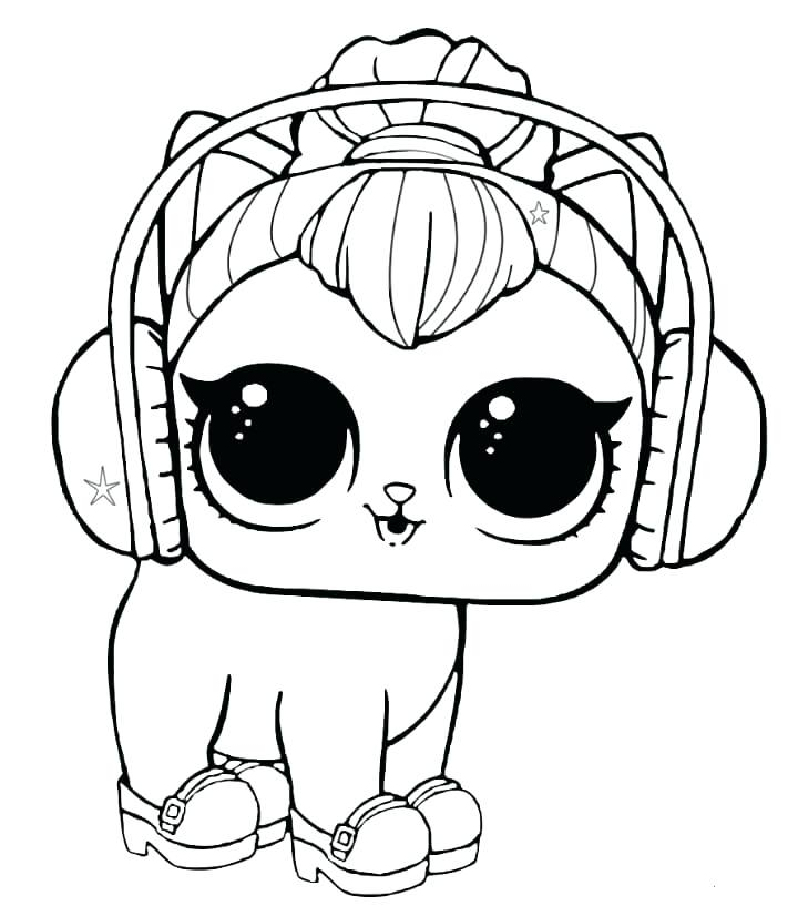 720x817 Lol Dolls Coloring Pages Online Free Printable Surprise Pet Pets