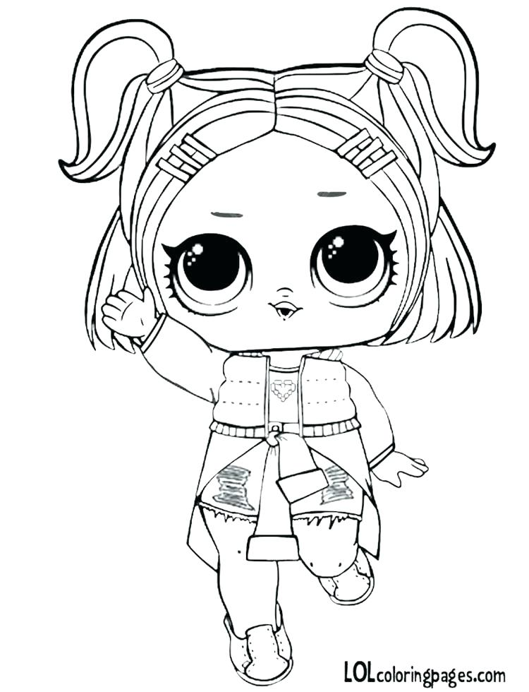 750x980 Lol Surprise Coloring Pages Queen Bee Doll Valentine Coloring Page