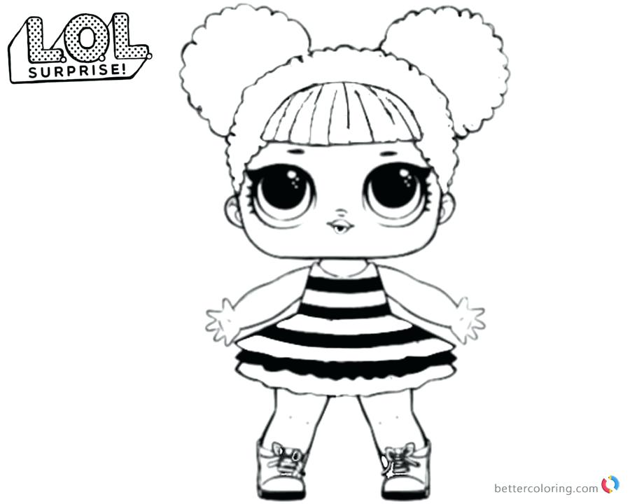 900x720 Lol Dolls Coloring Pages