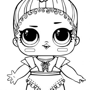 300x300 Coloring Pages Of Crazy Hair Best Of Free Printable Lol Surprise