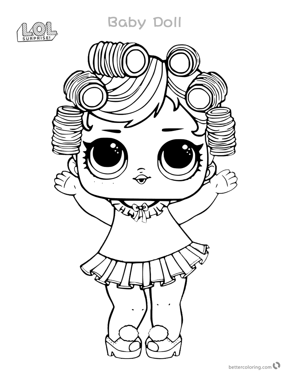 Lol Surprise Doll Coloring Pages At Getdrawings Com Free
