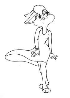 Lola Bunny Coloring Pages
