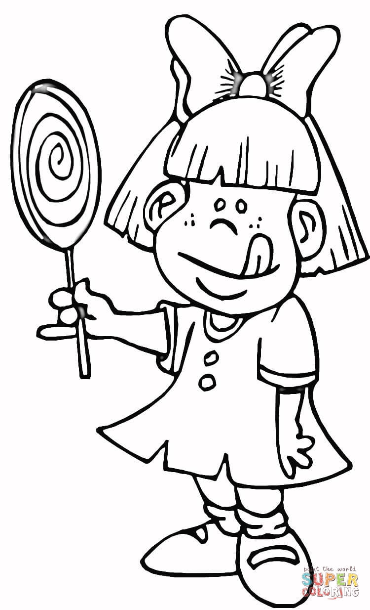 750x1234 Learn Coloring Page Kids Lollipops Pages For Lollipop