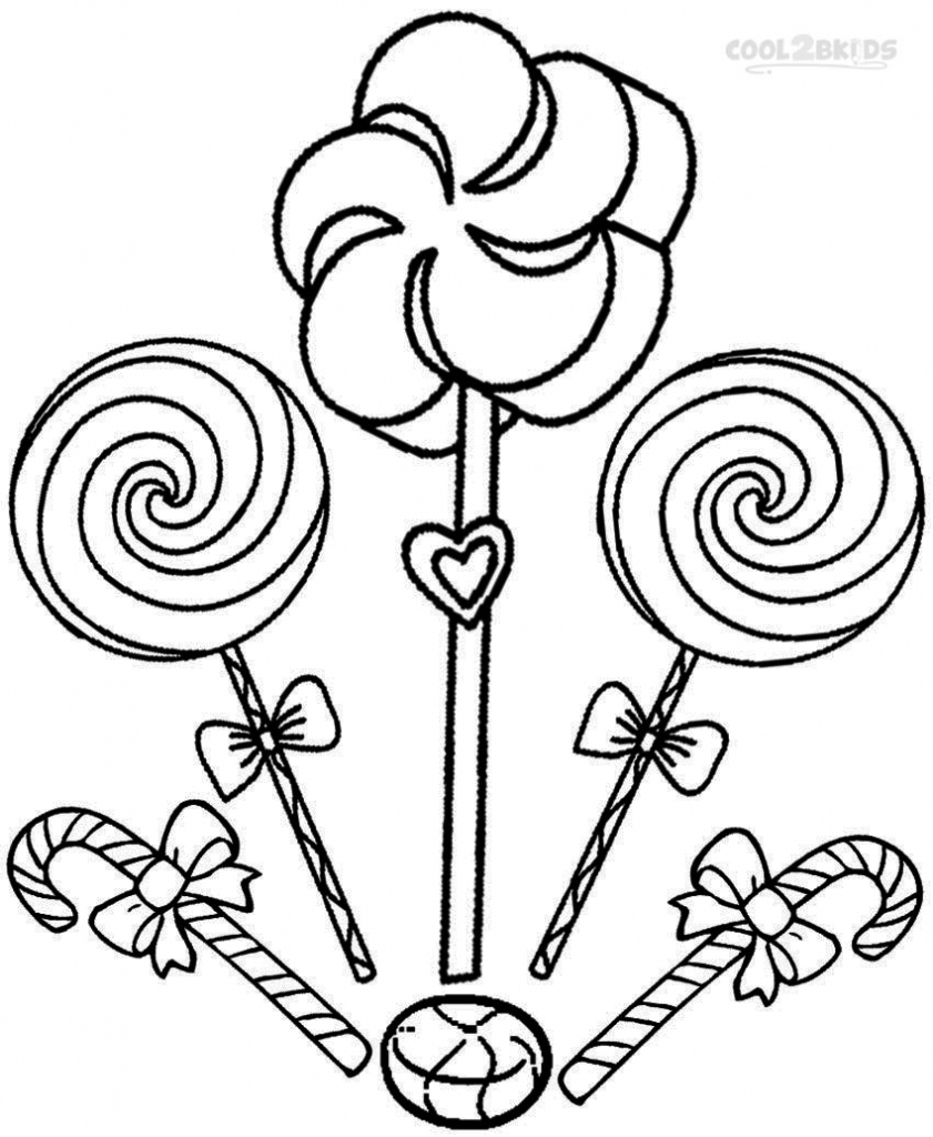 841x1024 Lollipop Coloring Page Coloring Pages Throughout Pages
