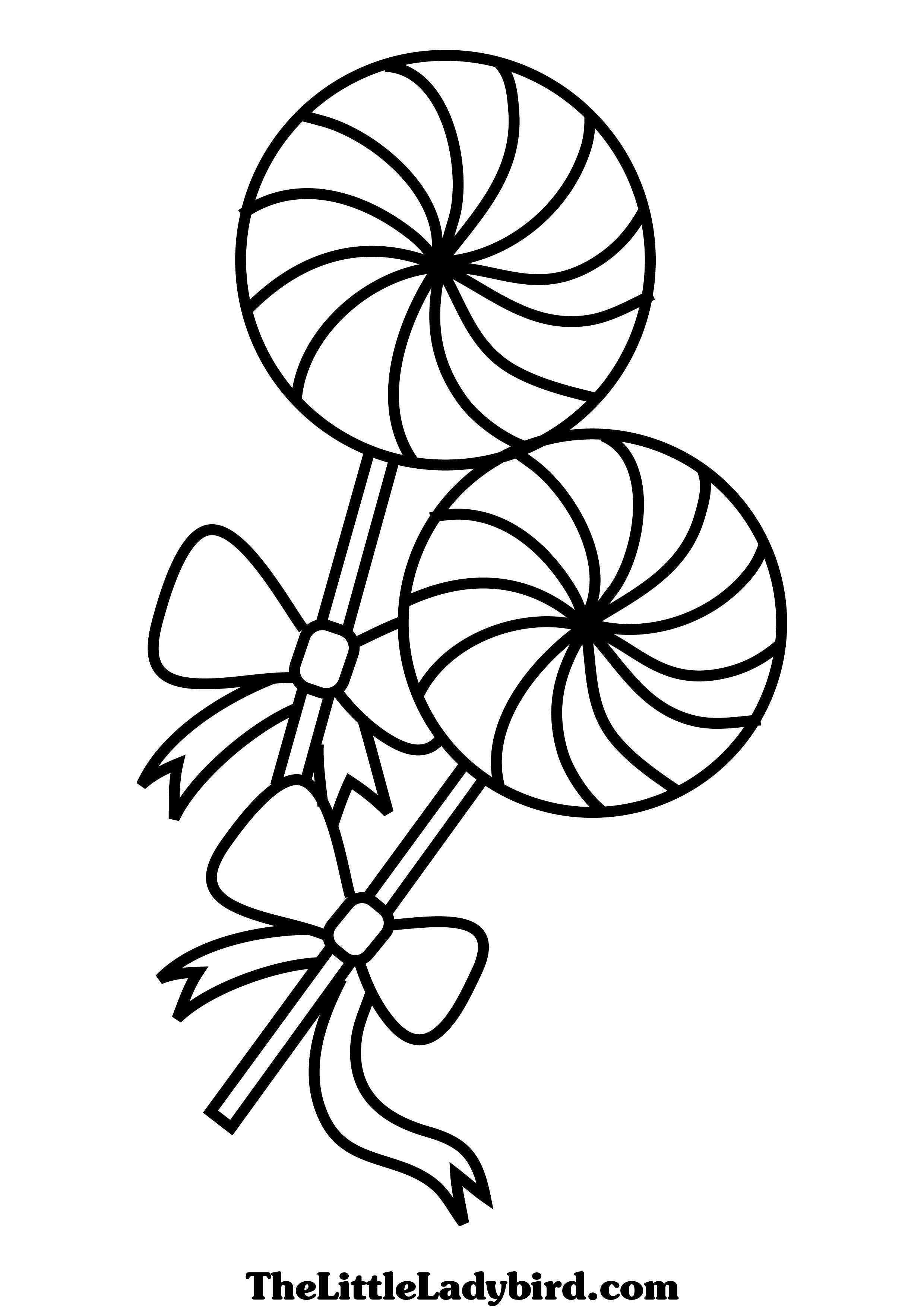 2480x3508 Lollipop Coloring Pages Images Page Az