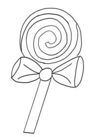 211x280 Lollipop Coloring Pages Drawn Color Ebestbuyvn Co Get Bubbles