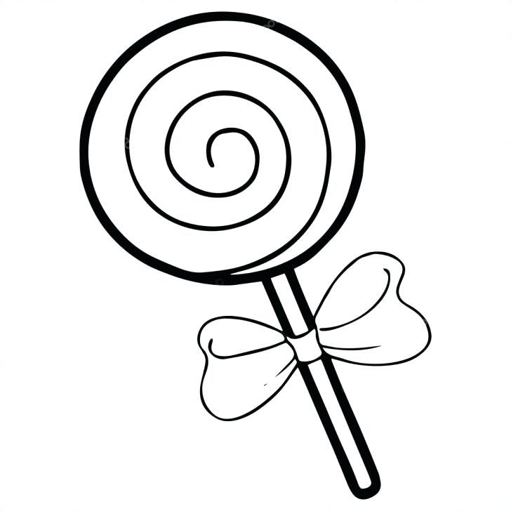728x728 Lollipop Coloring Pages Lollipop Coloring Page With Wallpaper