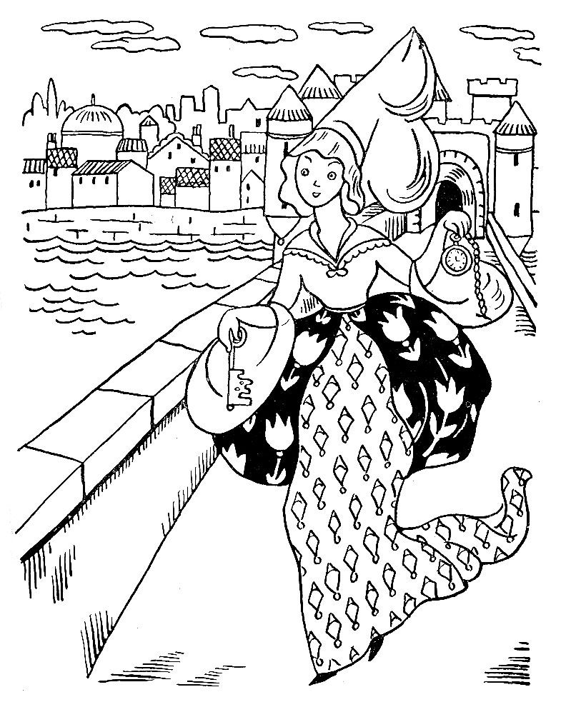 792x1004 London Bridge Coloring Pages For Kids Coloring Pages For Me