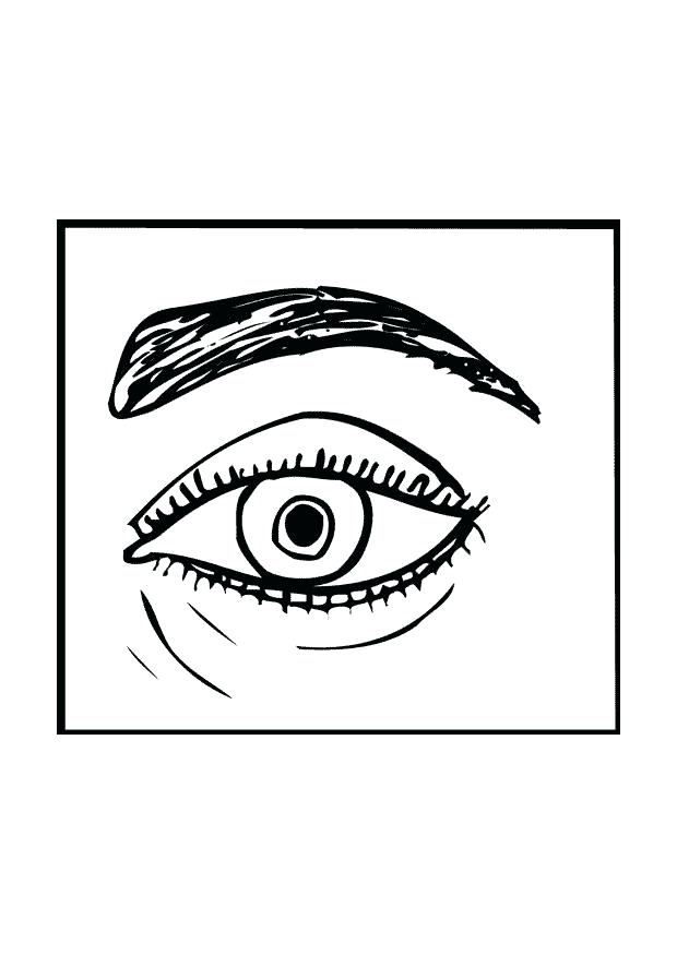 620x875 Eyeball Coloring Page Download Large Image Hawkeye Coloring Pages