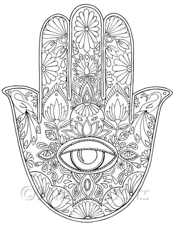 564x730 Eyeball Coloring Page Evil Eye Coloring Pages London Eye Coloring