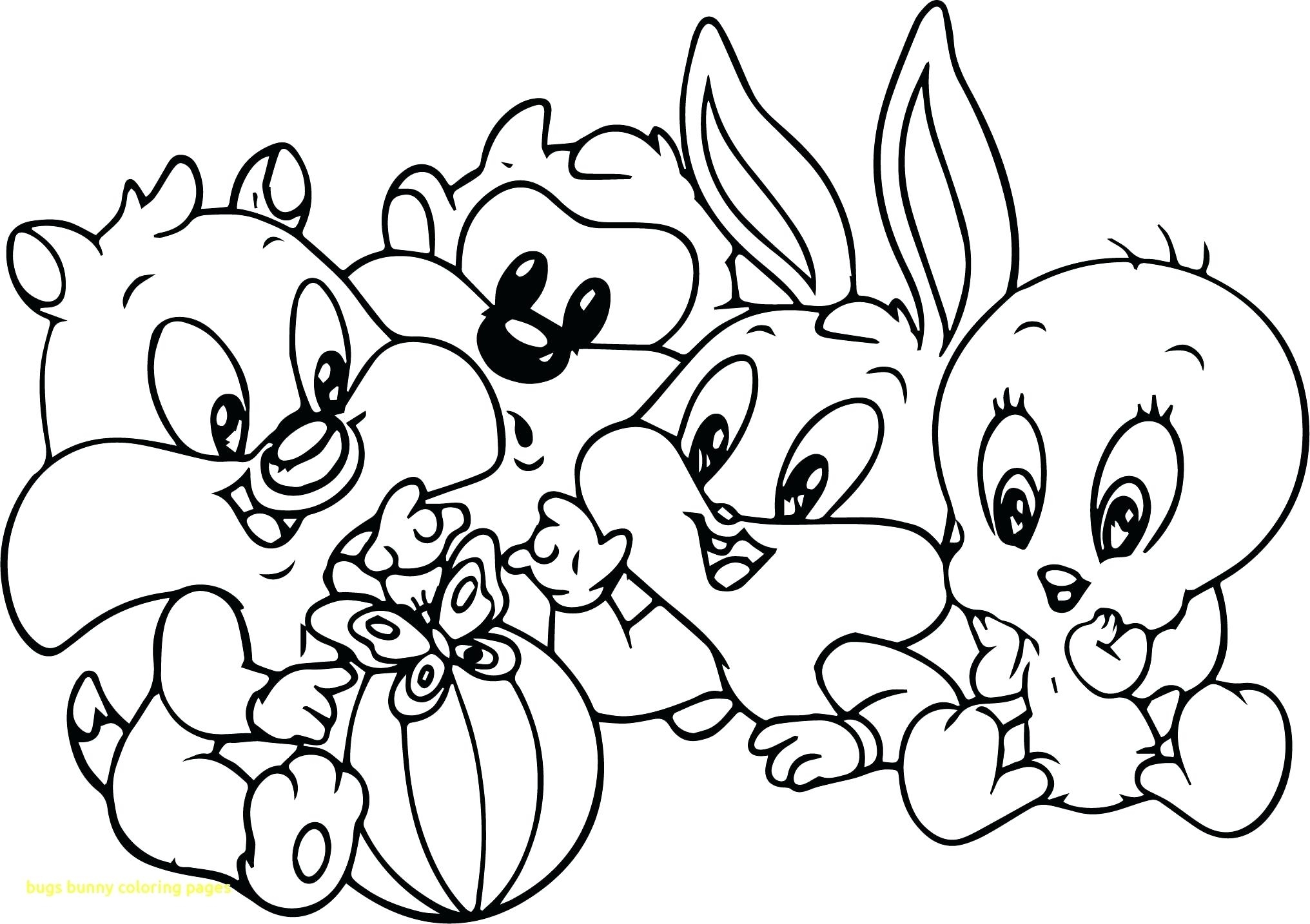 2032x1434 Coloring Pages Cute Looney Tunes Coloring Pages Baby Free Looney