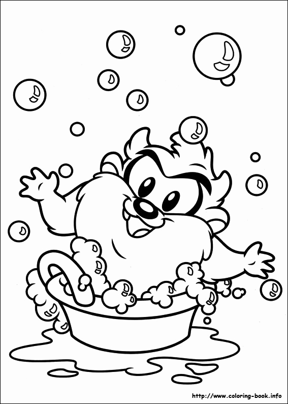 567x794 Baby Looney Tunes Taz Coloring Pages Photos Baby Looney Tunes