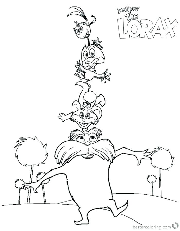 700x900 Lorax Coloring Pages Pdf Coloring Pages Download This Coloring