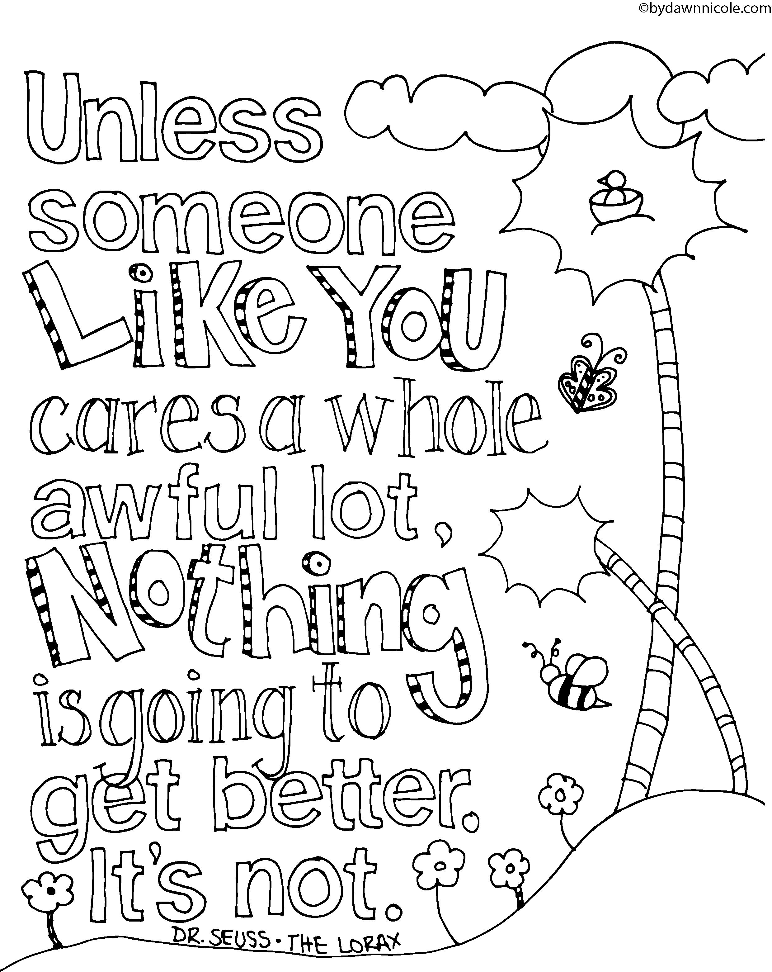 2480x3121 Lorax Coloring Pages To Print Dr Seuss Medio