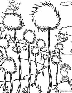 236x303 Lorax Coloring Pages To Print Free Printable Lorax Coloring