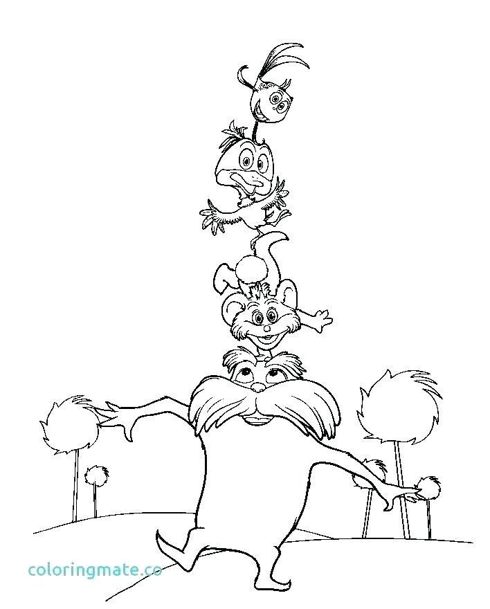 708x880 Lorax Coloring Pages Coloring Ideas Pro