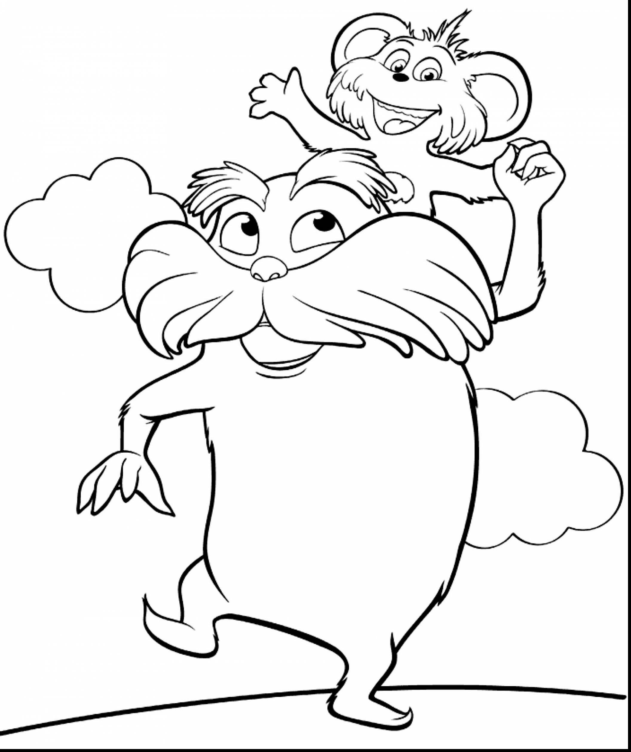 2112x2515 The Lorax Coloring Pages Awesome Dr Seuss With Ribsvigyapan