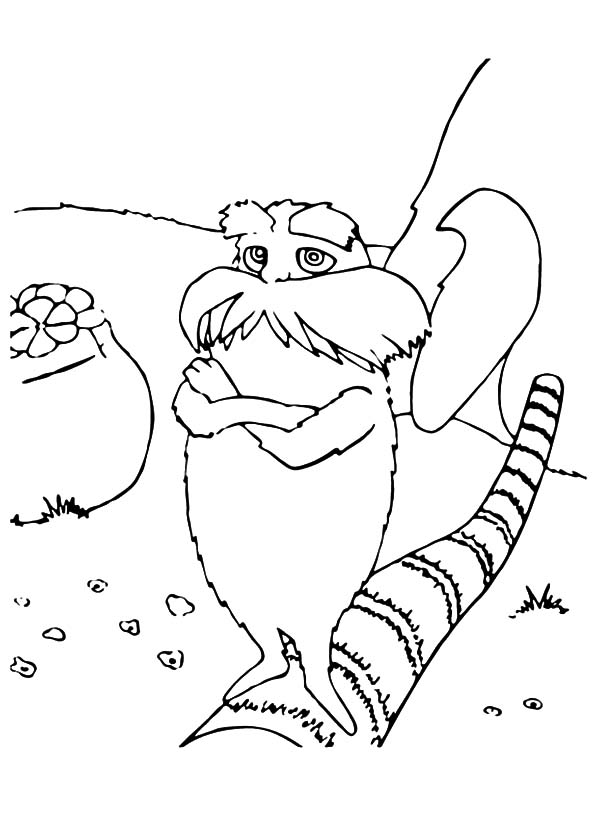 600x834 Free Lorax Coloring Pages For Kids