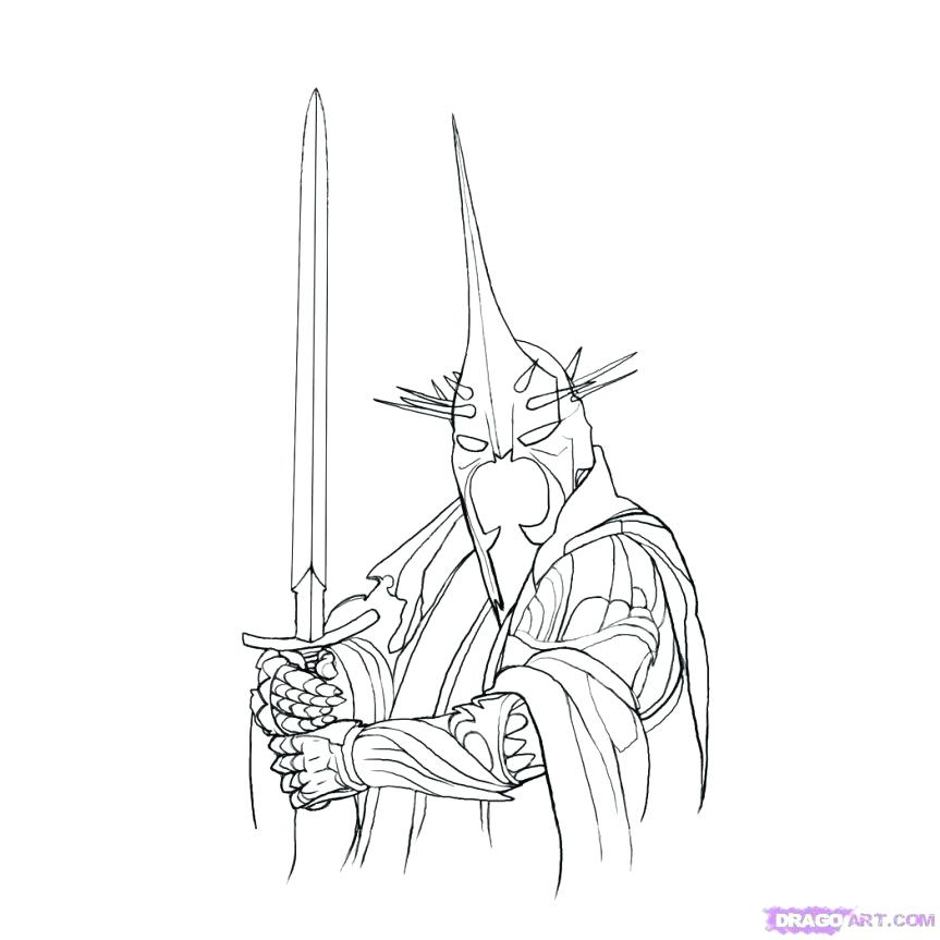 863x863 Lord Rings Coloring Pages Coloring Pages Free Lord