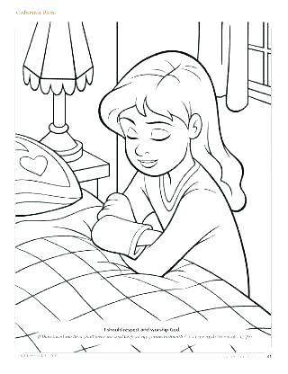 320x416 Prayer Coloring Pages Prayer Coloring Pages Catholic Lords Prayer
