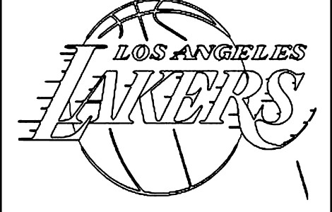 470x300 Los Angeles Lakers Coloring Pages Nba Coloring Pages Kids Coloring
