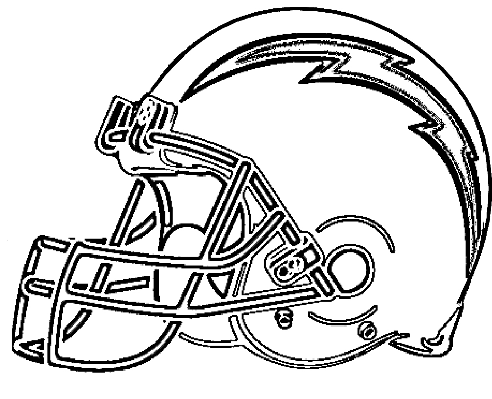 1006x816 Chargers Coloring Pages Los Angeles Logo Page