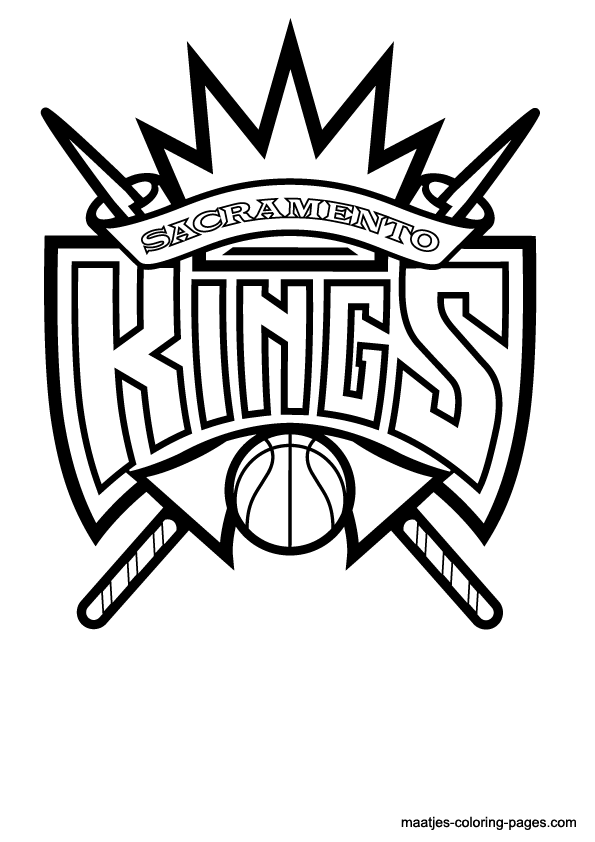 595x842 Images Of Los Angeles Kings Logo Coloring Pages