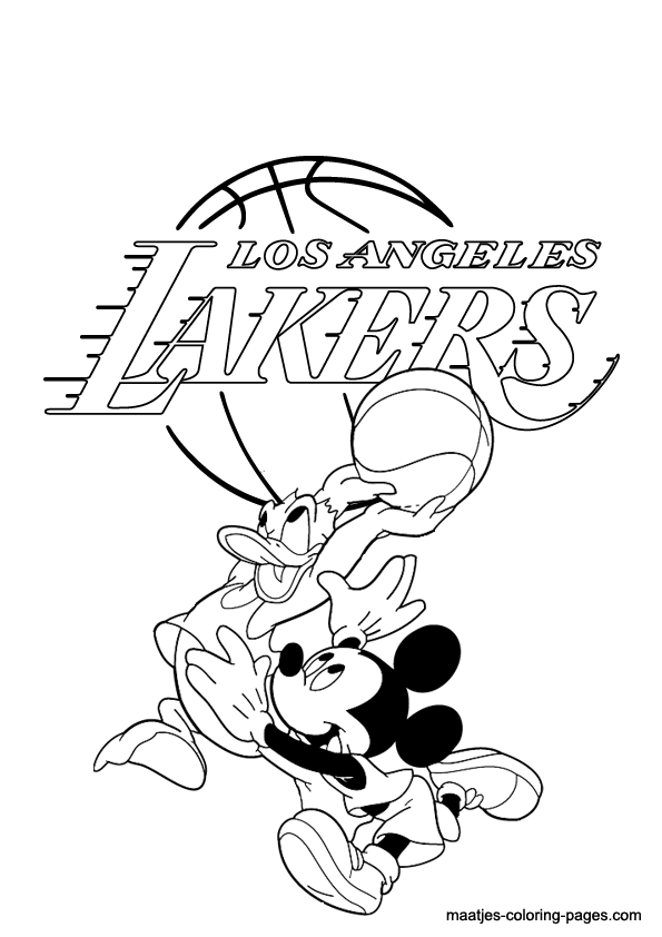 595x842 List Of Synonyms And Antonyms Of The Word La Lakers Drawings