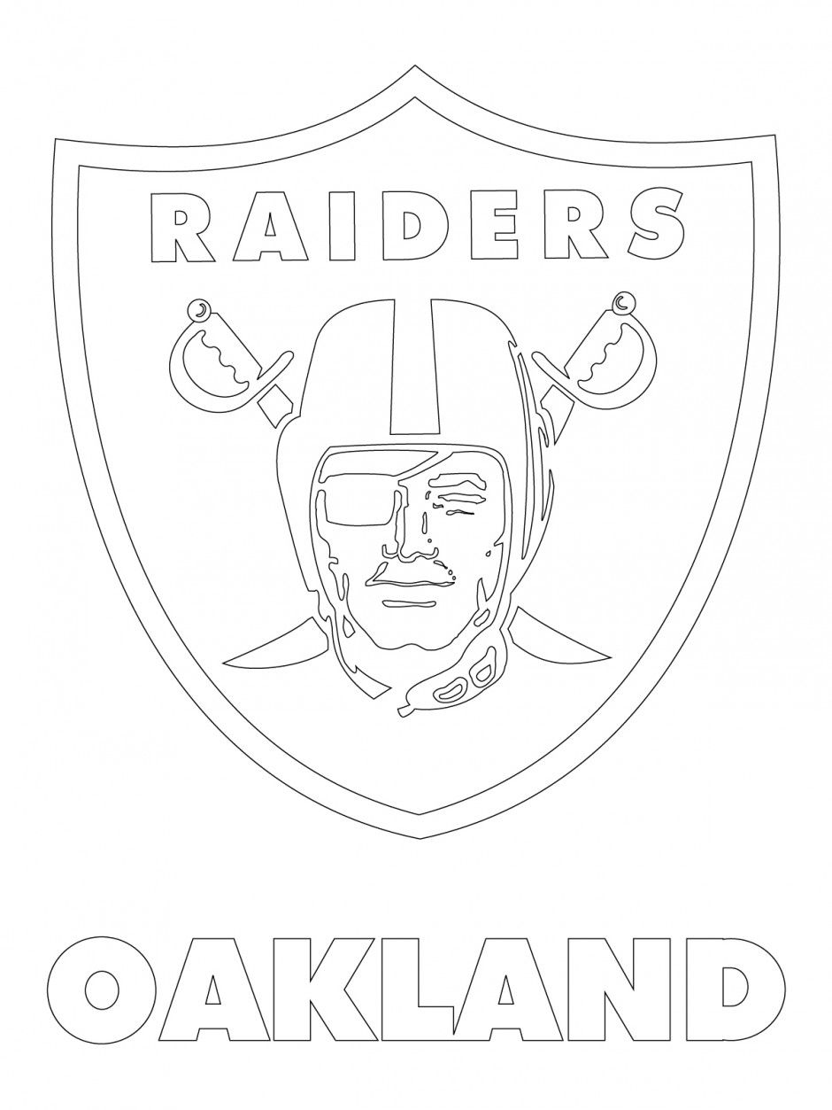 940x1253 Oakland Raiders Logo Oakland Raiders Logo Coloring Page Viewing