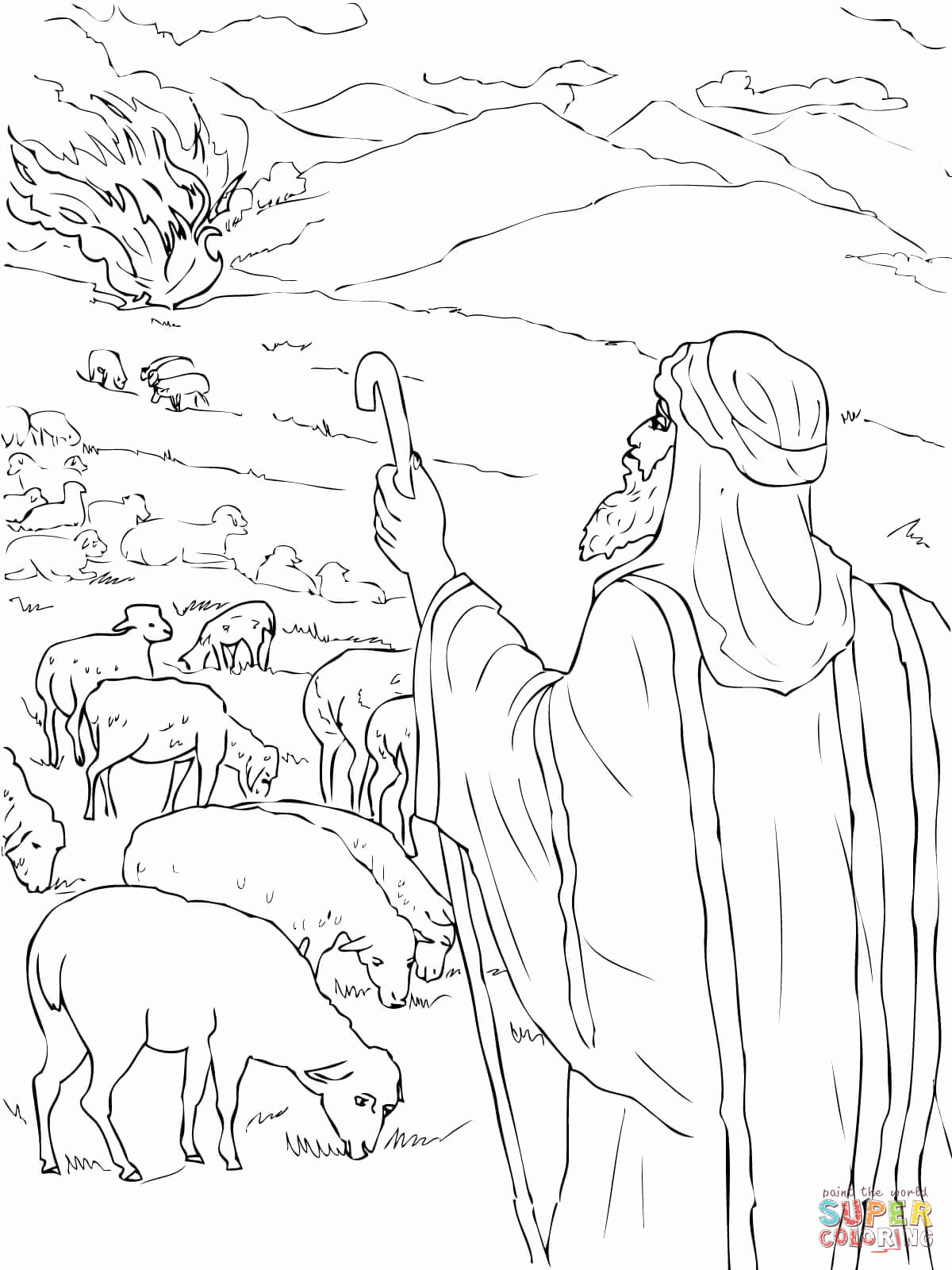 1200x1600 Moses Coloring Pages Los Angeles Kings Coloring Pages