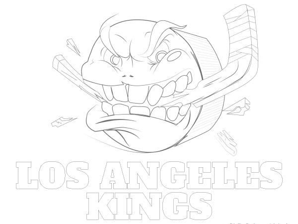 600x450 Printable Los Angeles Kings Coloring Sheet Nhl Coloring Sheets