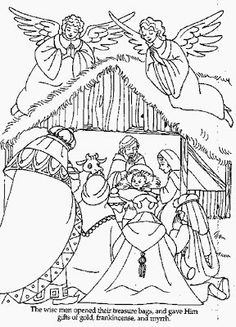 236x327 Christmas Coloring Page We Three Kings Fun For The Kids To Color
