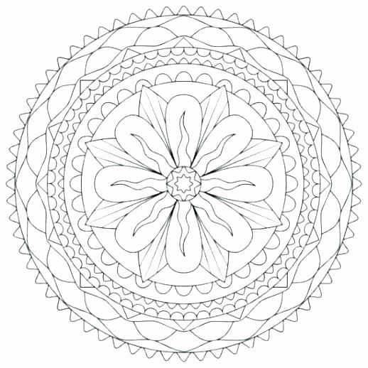 518x518 Lotus Flower Coloring Page Unique Lotus Coloring Pages Luxury