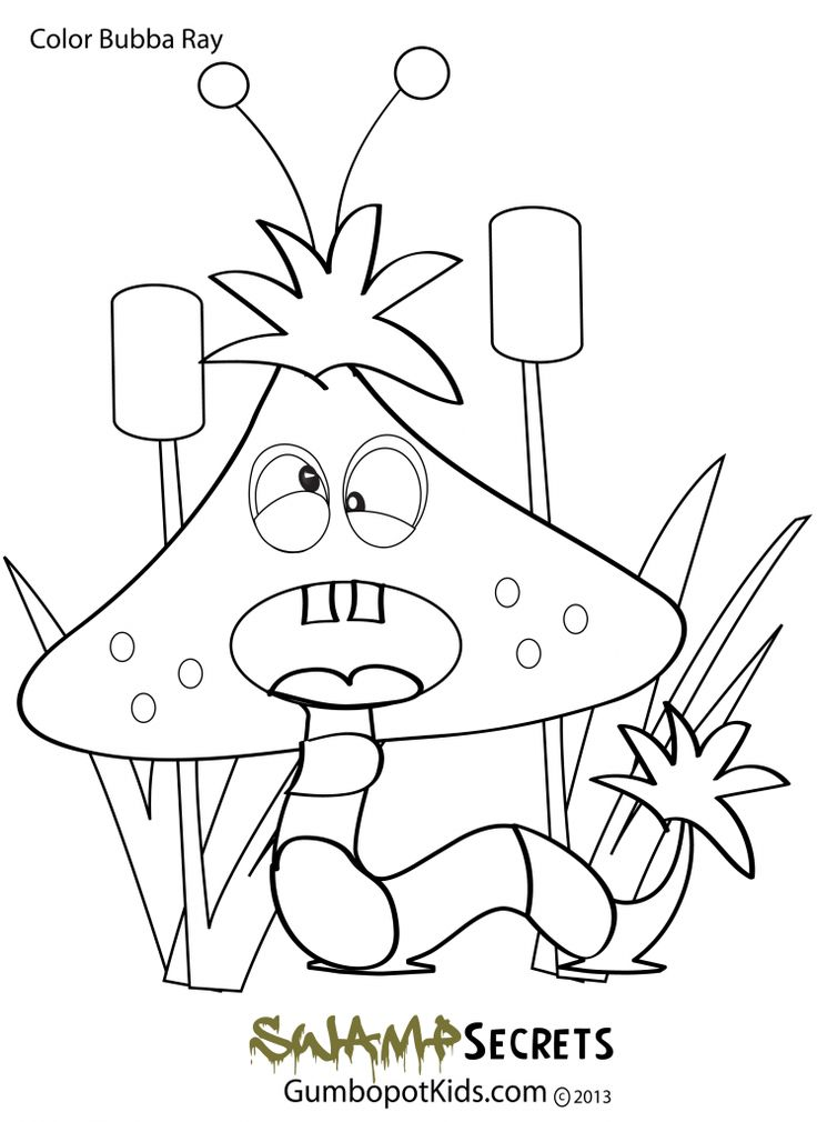 Louisiana Coloring Pages