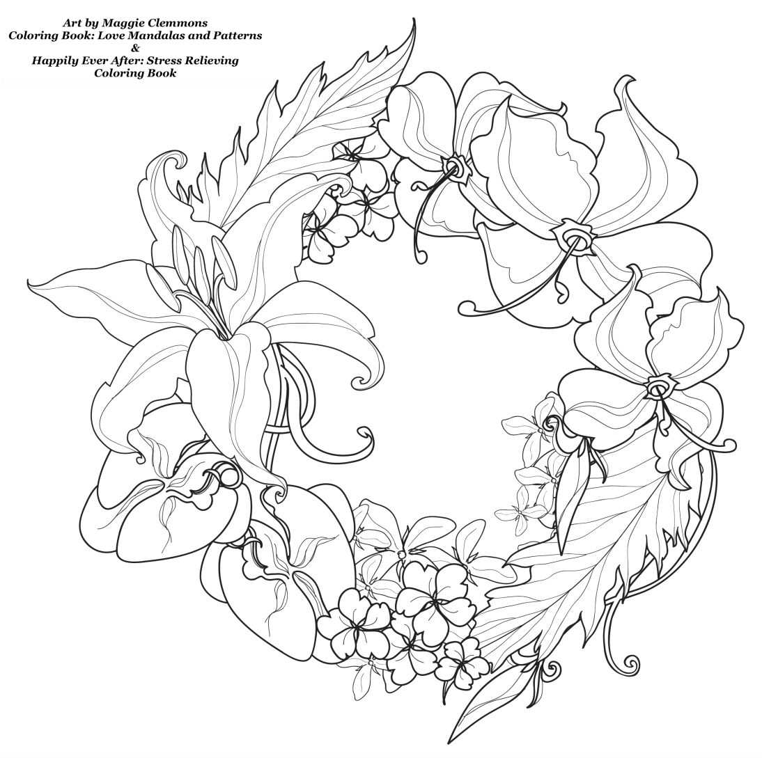 1094x1089 Free Coloring Pages From Adult Coloring Worldwide Art
