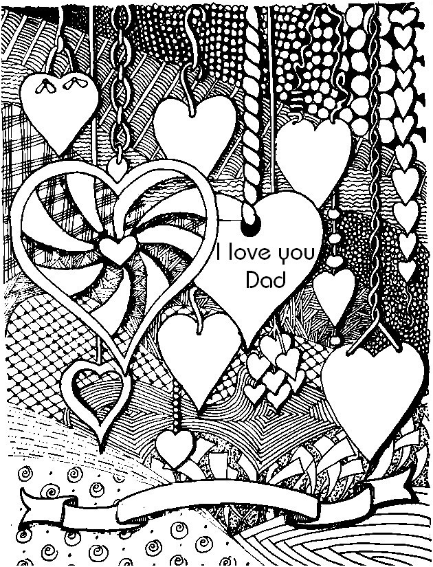 630x825 Love Coloring Pages For Adults Educational Coloring Pages