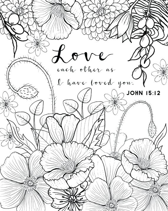 570x713 Love Coloring Pages John Coloring Page Love Coloring Page Adult