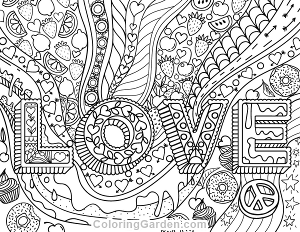 600x464 Adult Coloring Pages