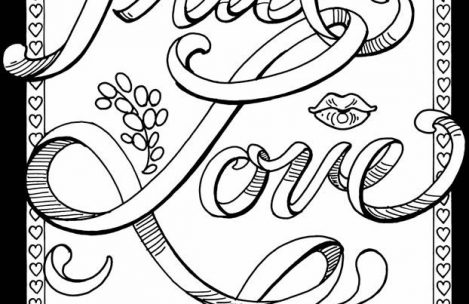 469x304 Adult Coloring Pages Love Just Colorings