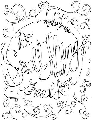 309x400 Adult Coloring Pages With Quotes About Love Free