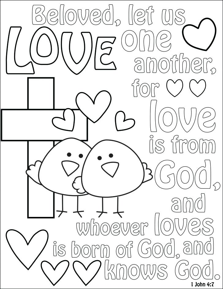 728x942 God Is Love Coloring Pages New God Is Love Coloring Pages