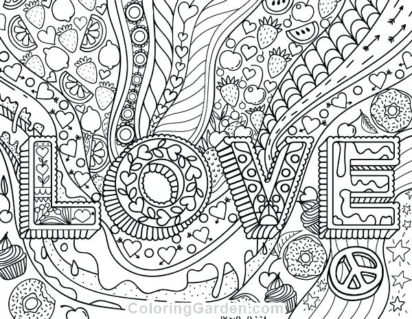 600x464 Love Coloring Pages Coloring Pages